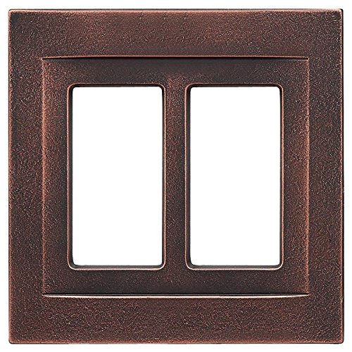 Somerset Collection Contemporary 2-Gang Oil-Rubbed Bronze Do