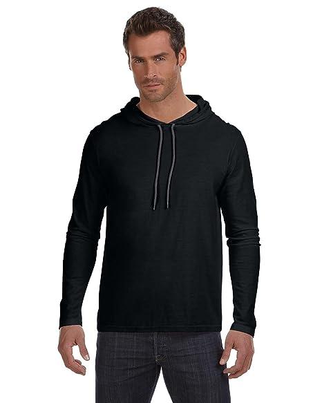 14847075 Anvil Lightweight Long-Sleeve Hooded T-Shirt