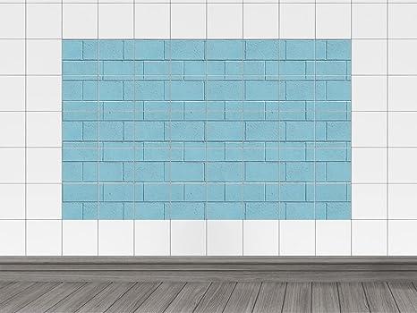Piastrelle immagini piastrelle adesivo per cucina pietra muro blu