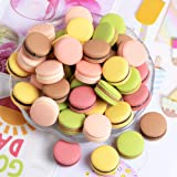 AMOBESTER Miniature Food Macaroon Dollhouse Decoration Kitchen Accessories Mini Play Food for Children