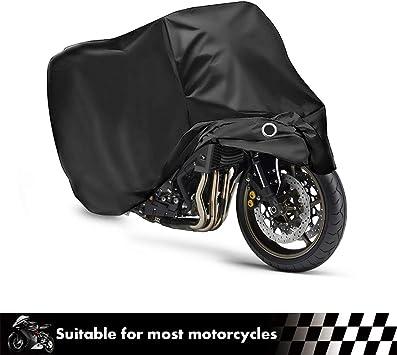 "NEW MOTORCYCLE COVER FITS SUZUKI HONDA KAWASAKI YAMAHA STORAGE COVERS 90/"" LENGTH"
