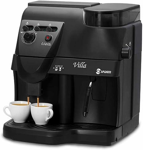 Saeco RI9734/91 Spidem Villa - Cafetera automática, color negro [Importado de Alemania]: Amazon.es: Hogar