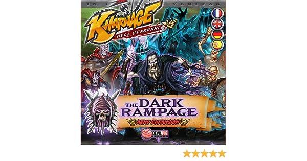 Asmodee Kharnage Dark Rampage Expansion - English: Amazon.es: Juguetes y juegos