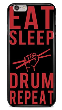 Carcasa de iPhone 6/6s Eat Sleep Drum Repeat - Carcasa ...