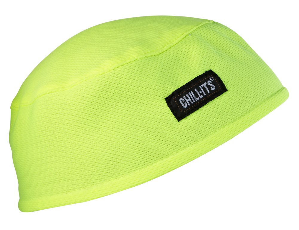 Ergodyne Chill-Its 6630 Absorptive Moisture-Wicking Skull Cap, Flames