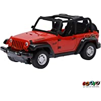 Gooyo RC Toys 4 Function Radio Remote Control Cars Rechargeable 1:24 Cross Country Toy Car with Chargeable Batteries for Kids/Boys(Red)
