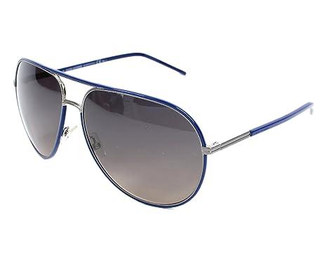 Dior Homme Lunettes de soleil Dior 0169S Plisse - E4Y R4  Ruthenium   Blue 7f28a5d1458a