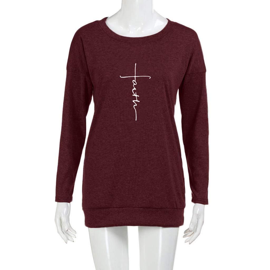 5a49a77deda003 Streetwear Goosuny Pullover Damen Sweatshirt Schöne Warme Winterpulli  Winterpullover Frauen Rundhals Langarm Pullis Mode Winter T ...