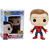 Funko POP Marvel Spider-Man Homecoming Spider-Man New Suit Unmasked Action Figure
