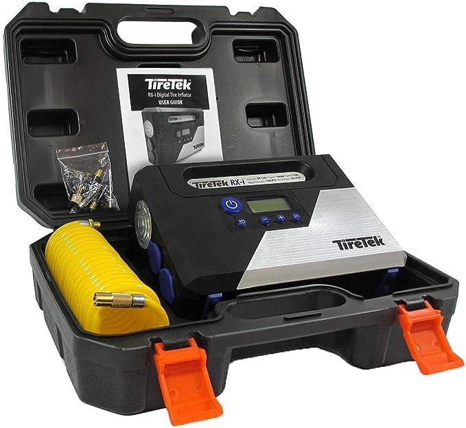 TireTek RX-i Inflador de neumáticos Digital – 12 V compresor de aire portátil