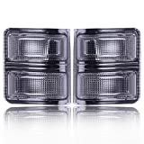 SCITOO Turn Signal Lenses 2PCS Smoke Amber Side Mirrors Lens High Perfitmance Automotive Replacement Parts Turn Signal Lights fit 2008-2016 Ford Super Duty F250 F350 F450 F550