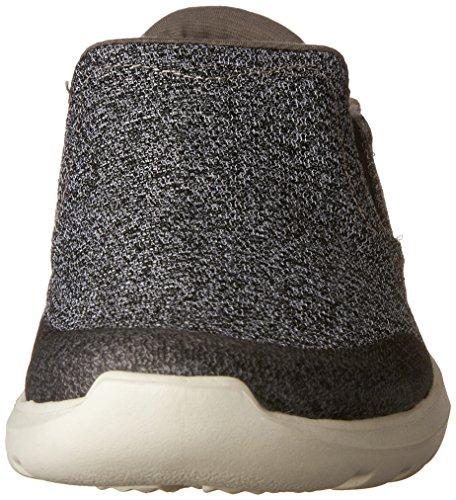 Crocs Herren Kinsale Statische Brogue, Grau Grau (houtskool / Pearl / Weiß)