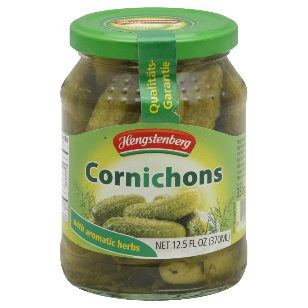 Hengstenberg Cornichons 12.5 OZ(Pack of 4)
