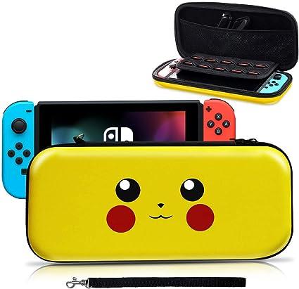 Haobuy Funda para Switch, [Diseño para Pikachu/Pokemon][Estuche ...