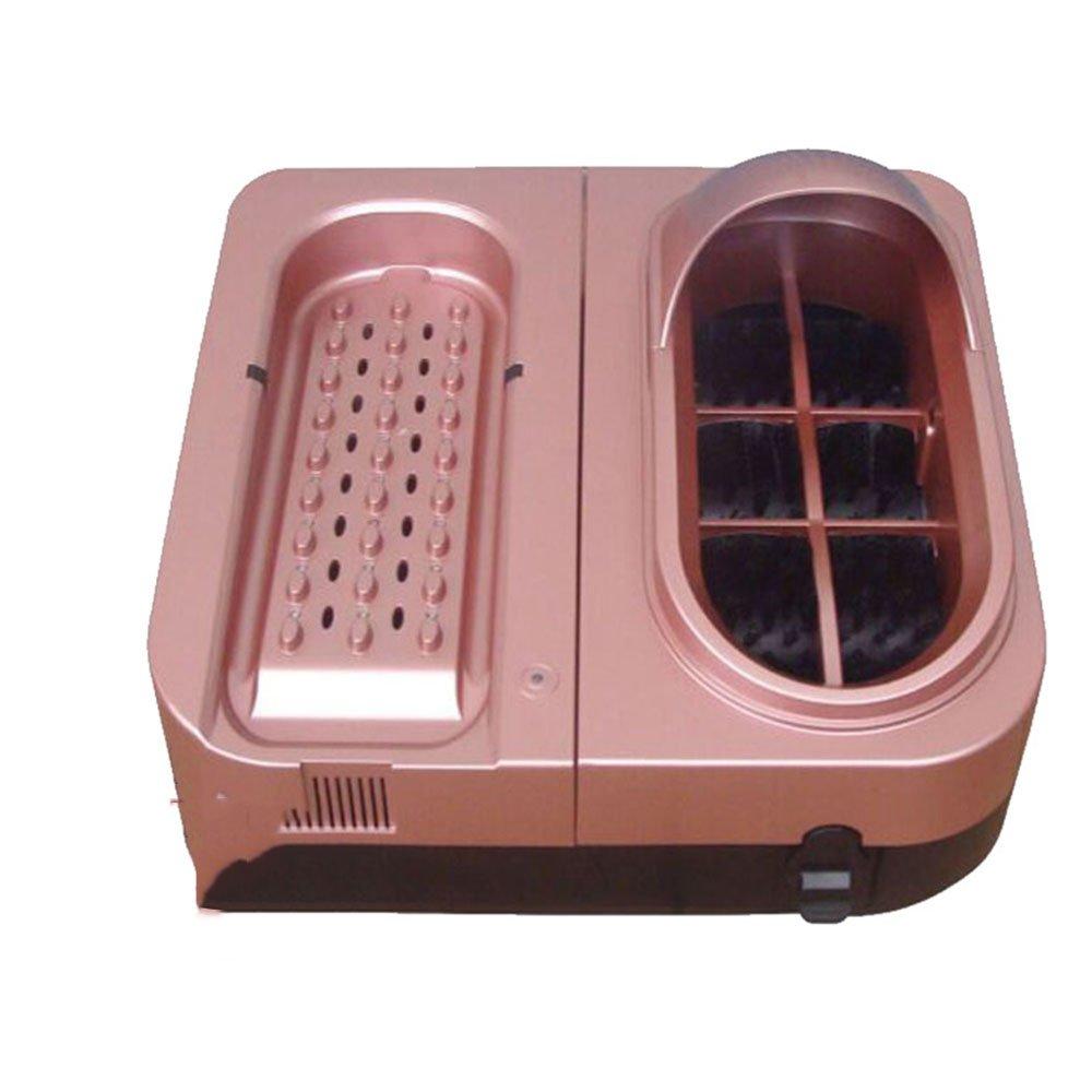 【正規販売店】 QFFL 唯一の清掃機スマート自動靴 - Pink) : shinerウォッシャブル空冷靴ポリッシャーダストUVシューポリッシャーゴールド/ピンク45.5* 44.5* 44.5 30センチメートル クリーニングブラシ (色 : Pink) Pink B07BHF6ZG3, ドリンク専門店 雫:79e1a1e0 --- a0267596.xsph.ru