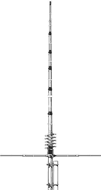Sirio Antenne Antena CB Fija 5/8 λ Ground Plane, frecuencia 27 – 30 MHz, Ganancia 3,35 dBi, Potencia máxima 3000 vatios (CW) Corto Time, Altura 7,23 ...