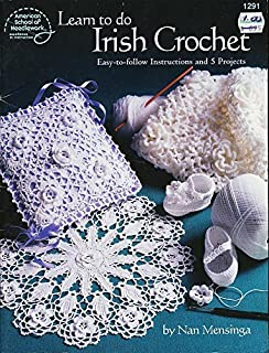 d18f82b09 Learn to do Irish crochet: Easy-to-follow instructions and 5 projects