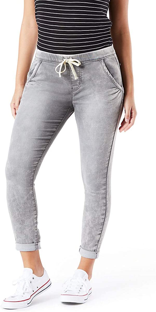 Signature by Levi Strauss & Co. Gold Label Women's Mid-Rise Cropped Lounge Jogger