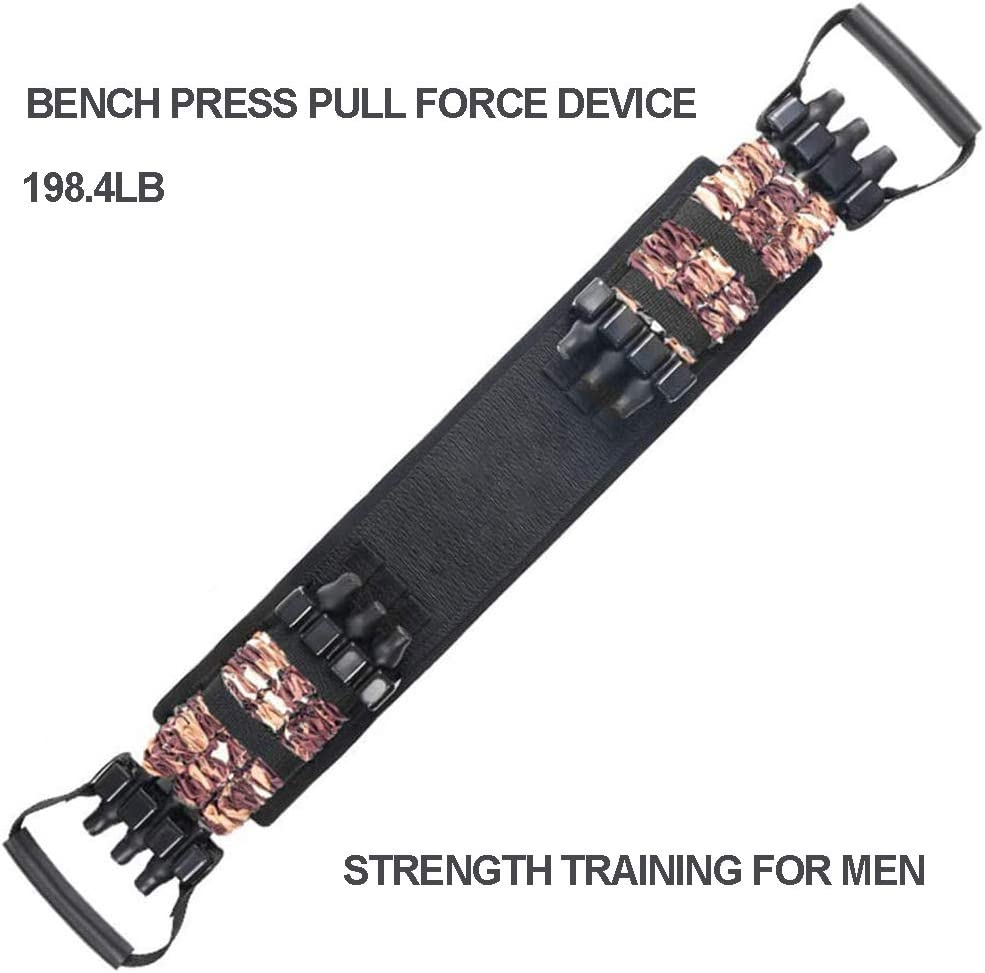 GHH Resistance Bands For Bench Press Chest Expanders Assistance Removable Chest Builder Workout Equipment for Home Workout,Gym,Fitness,Travel Training
