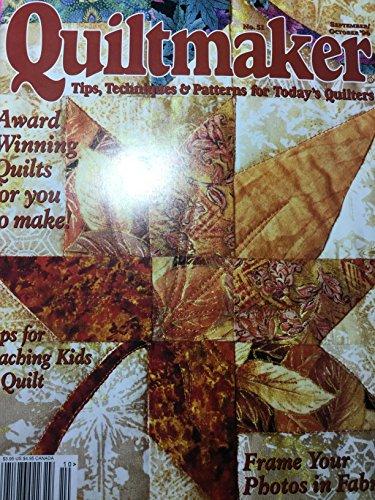 Quiltmaker Magazine September/October 1996 Vol. 15, No. 5