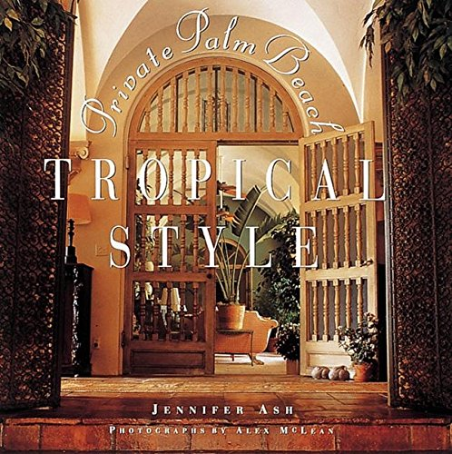 Tropical Style: Private Palm Beach