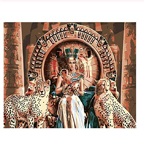 Cleopatra Halloween Diy (Adult Children Puzzle Classic Jigsaw Puzzle 1000 Pieces Wooden Puzzle Cleopatra Figure Modern Home Decor DIY Wall Art Intellectual Game Unique)
