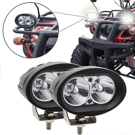 faro de moto delantero 20w focos led 12v faro de trabajo led auxiliar de trabajo
