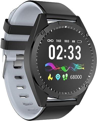 CAOQAO - Moda Reloj Inteligente Moderno Android iOS Deportes Fitness Calorías Muñequeras Reloj Inteligente #2 ...