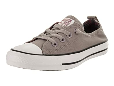 687d839011163f Converse Women s Chuck Taylor Shoreline Slip Mercury Grey White Black Slip-On  Shoe