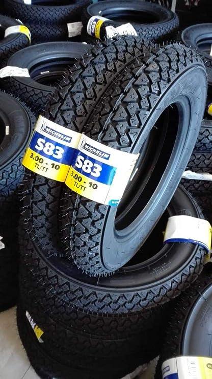 1 Paar Reifen Michelin S83 3 00 10 42j Für Piaggio Vespa Special 50 N R Auto