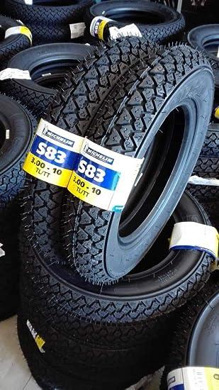 PAR - neumáticos gomas Michelin s83 3.00 - 10 Fiesta, piaggio Vespa Special 50 N R: Amazon.es: Coche y moto