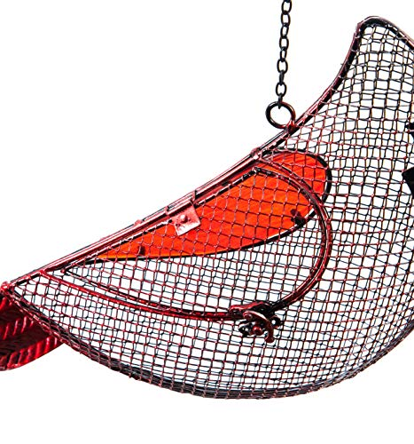 New Creative Cardinal Mesh Bird Feeder (Best Feeder For Cardinals)