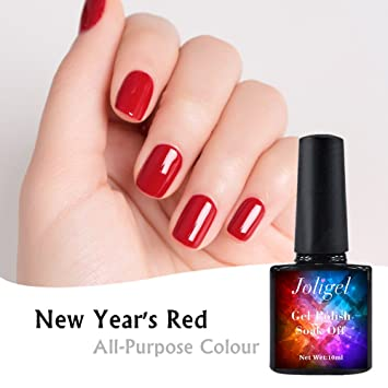 Joligel Red Permanent Nagel Gel Schellack UV LED Für Maniküre Pediküre  Dekoration Nail Art, Leuchtend