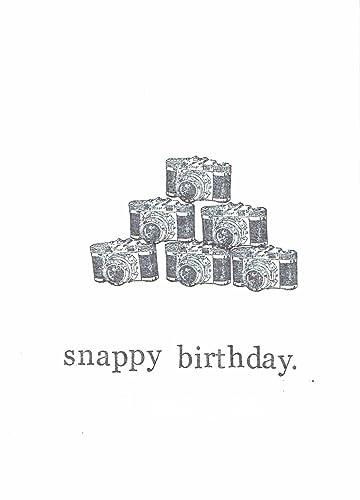 Amazon Snappy Birthday Funny Photography Birthday Card