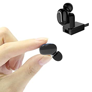 COTOP mini auriculares inalámbricos de bluetooth, 1 pieza Bluetooth auriculares V4.1 auriculares Bluetooth