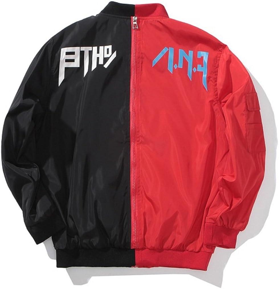 Winter Jacket for Toddler Boys Zipper Bomber Jacket Two Sides Winter Coat for Teen Boys