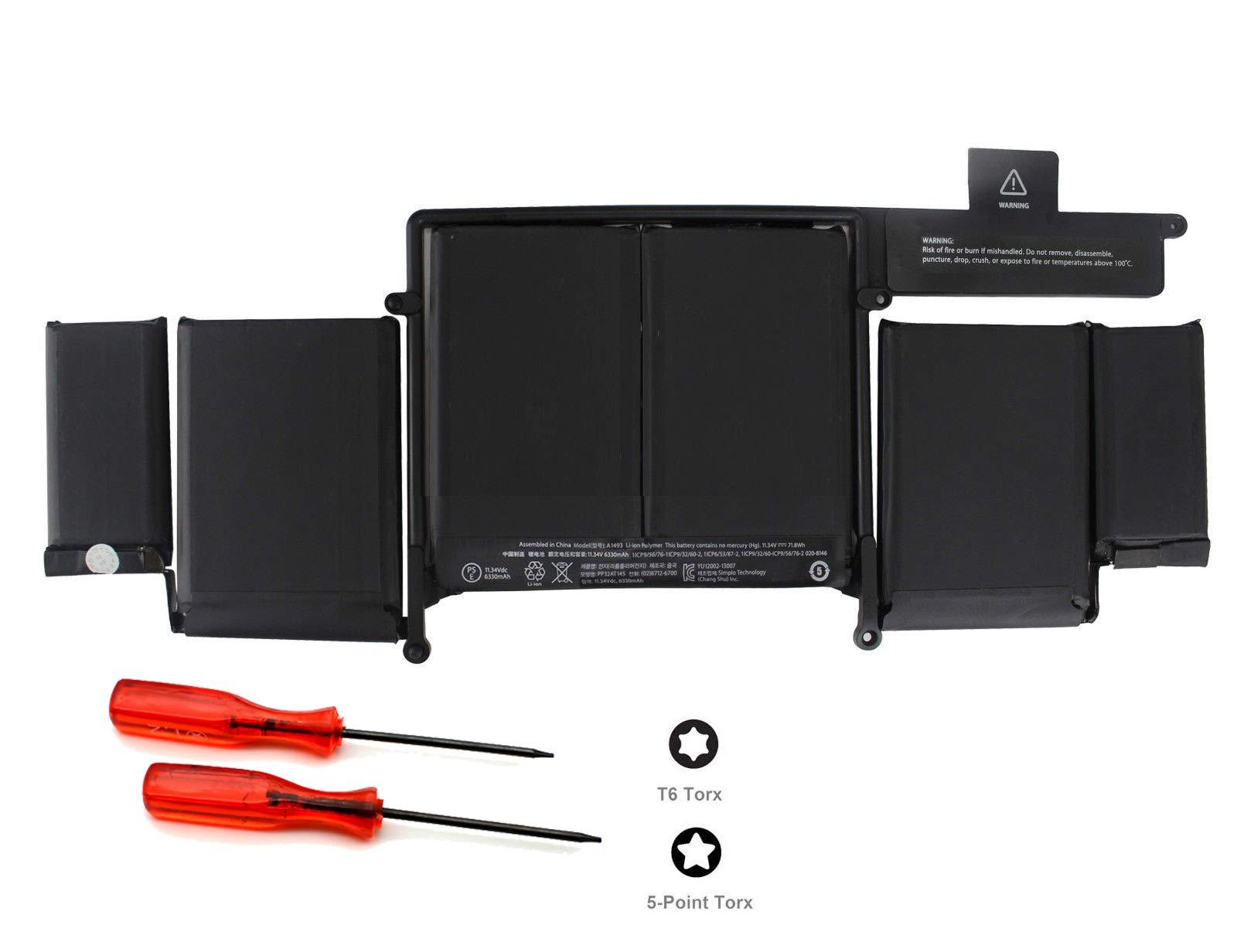Bateria A1493 MacBook Pro 13 Retina A1502 2013 Me864 Me865 M