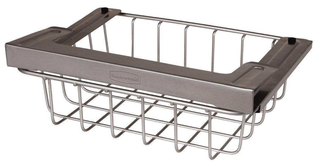 Amazon.com: Rubbermaid Slide Out Under Shelf Storage Basket, Titanium  (FG1H3200TITNM): Home U0026 Kitchen