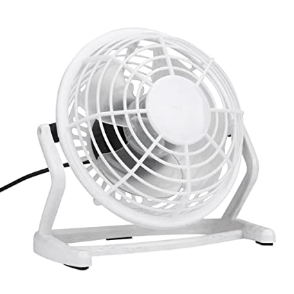 Wonderful Mini Office Fan, CieKen USB Small Fan Quiet Portable Angle Adjustable  Airflow Tabletop Personal Super