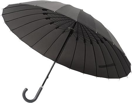 NEW!Mabu MBU-24J01 Black 24 This Bone Jump Umbrella Industry/'s First!