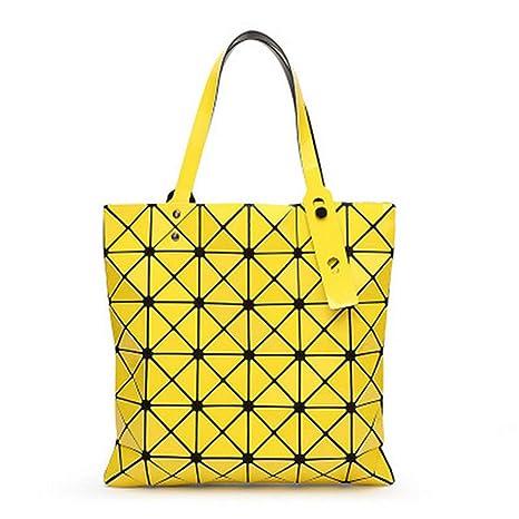 Top-H le Bags Bao Bolso de Mujer Messenger Phone Bag Hombro geométrico Plegable Paquete