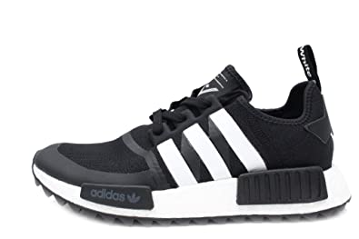 f8edb691d5ad Image Unavailable. Image not available for. Color  White Mountaineering NMD  Trail Primeknit Mens in Black White by Adidas ...