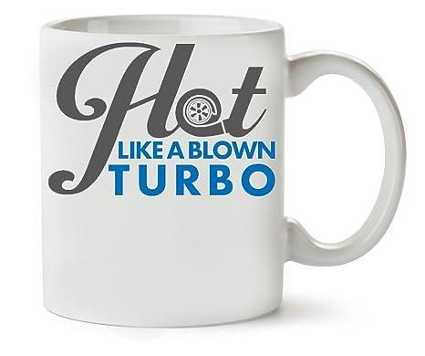 MugWorld Cars Hot Like A Blown Turbo Taza para Café Y Té