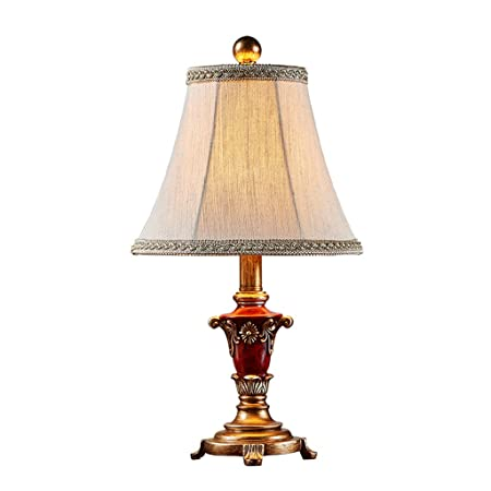 Gold Table Lamp Bedroom Bedside Lamp Retro Warm Creative Simple