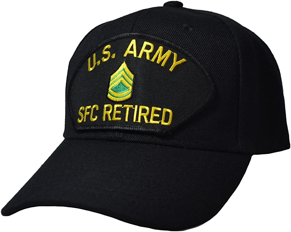 Military Productions US Army Sergeant First Class Retired Cap