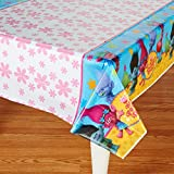 "Toys : American Greetings Trolls Plastic Table Cover, 54"" x 96"""