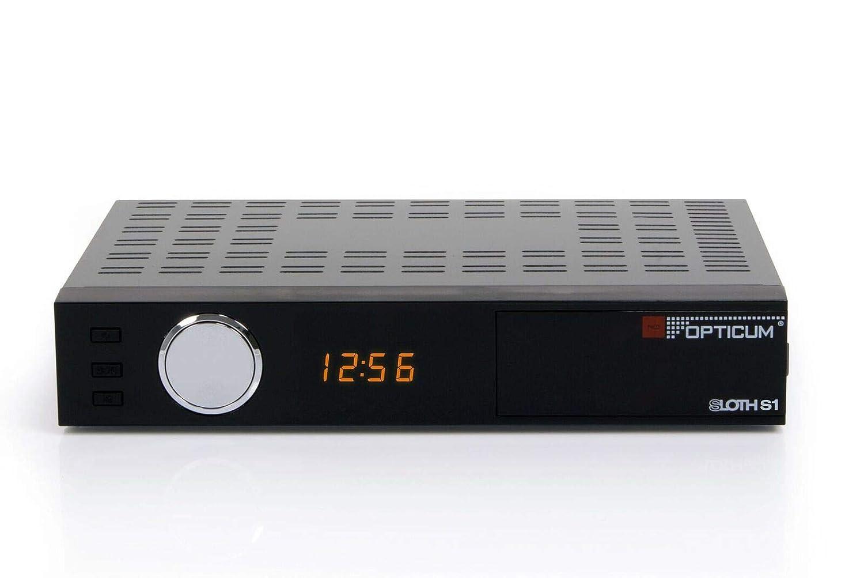 HDTV,HDMI, SCART, IPTV, LAN, USB Opticum Red AX HD Sloth S1 DVB-S Digital IP Receiver