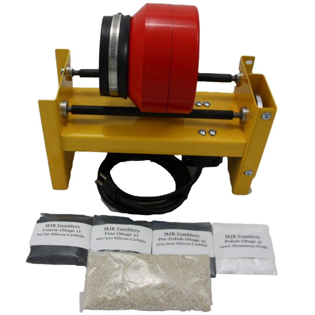 MJR Tumblers 6 LB Rock Tumbler with Grit Kit