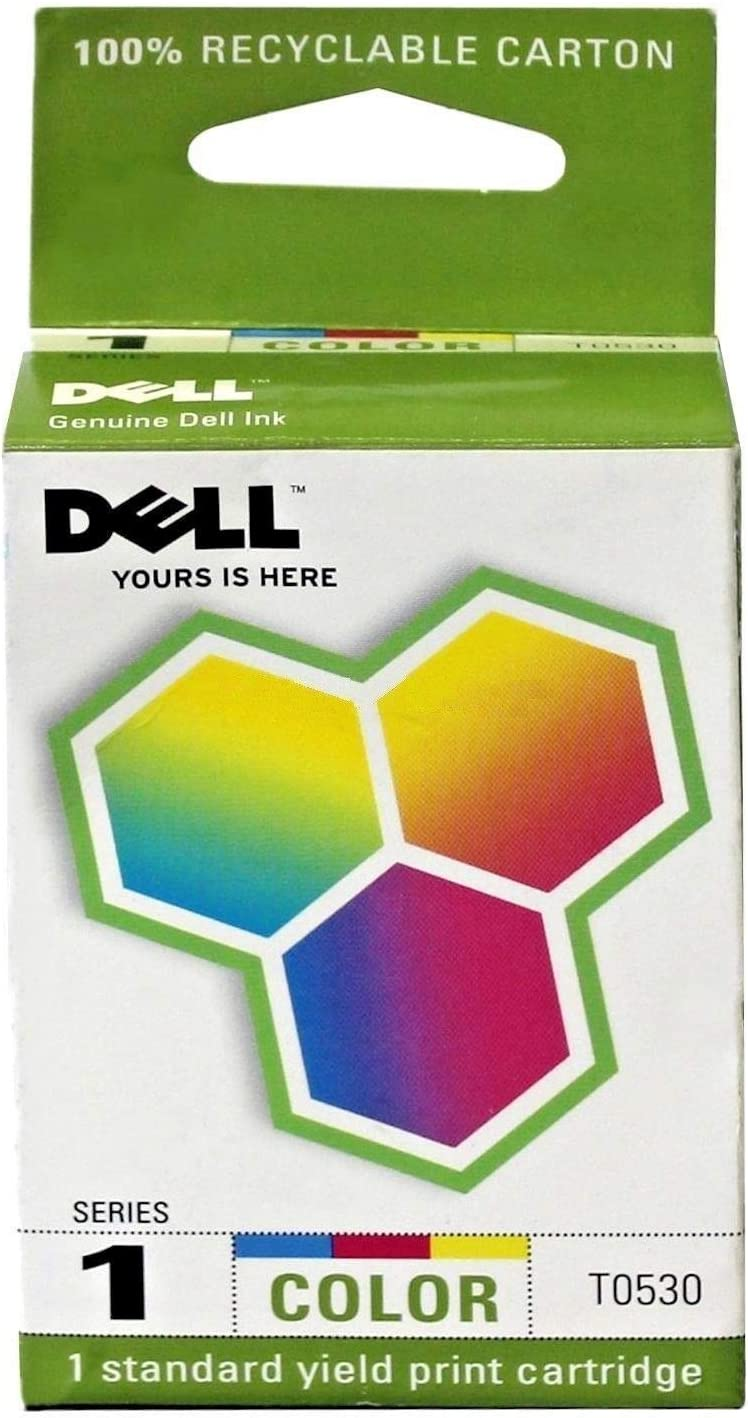 Dell T0530 Series 1 720 A920 Ink Cartridge (Color) in Retail Packaging