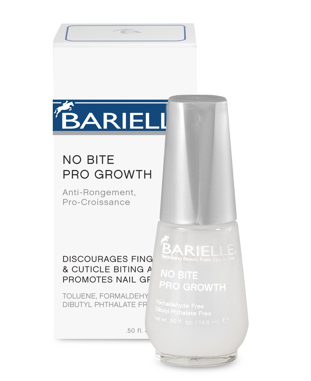 Amazon.com : Barielle No Bite Pro Growth, 0.5 Ounce : Nail Growth ...